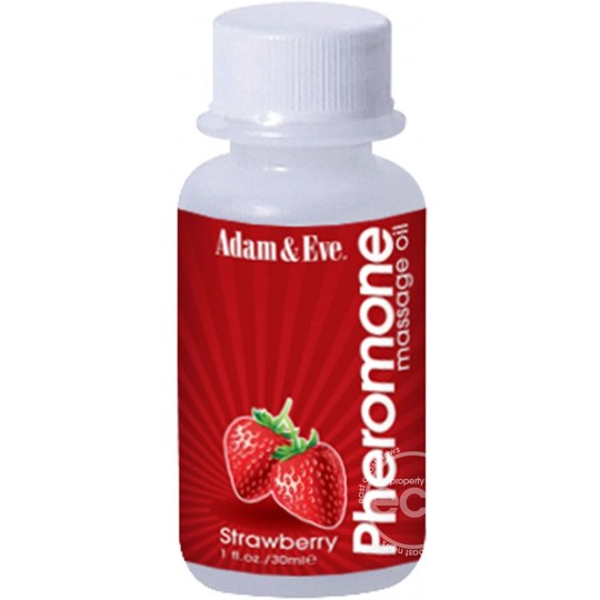 Aceite con Feromonas para Masaje Adam & Eve Oil 1 oz.