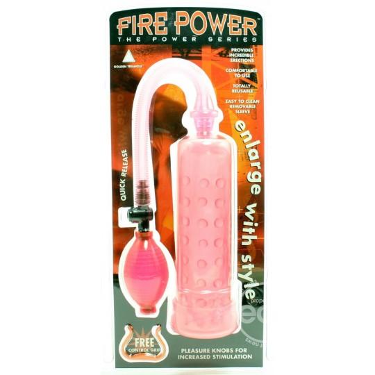 Bomba con Funda Estimuladora Fire Power.