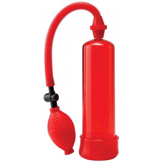 Bomba Alargadora Poder Extremo Roja con Anillo.