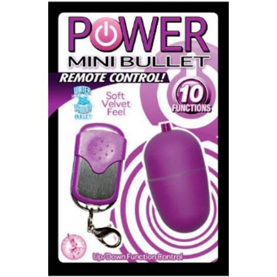 Mini Huevo Inalambrico Purpura Power.