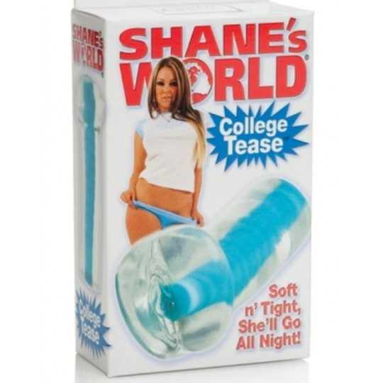 Masturbador en Forma de Vagina Trasparente Shane's World