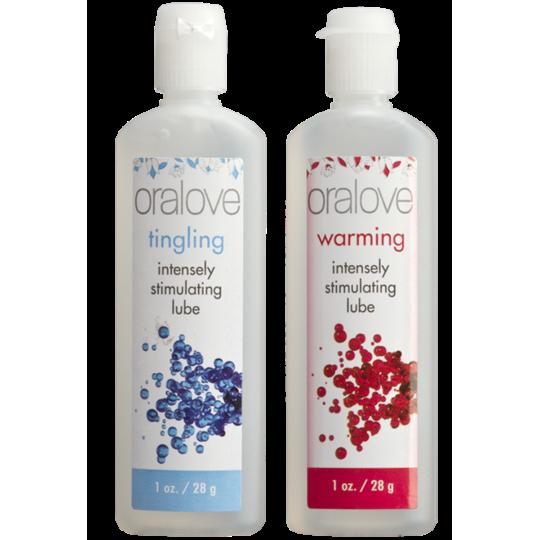 Oralove Dynamic Duo - Sensación Caliente y hormigueo