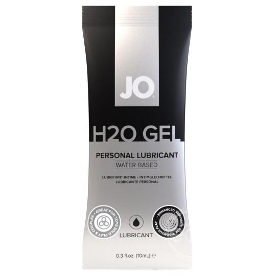 Gel Lubricante a Base de Agua JO H20. 10ml
