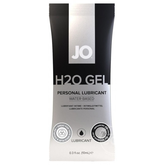Gel Lubricante a Base de Agua JO H20. 10ml