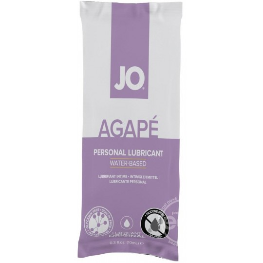 Lubricante a Base de Agua JO® AGAPÉ. 10ml.