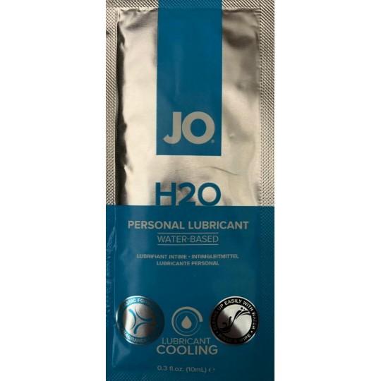 Lubricante JO H20 Efecto Frio. 10ml