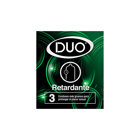 Condón Duo Retardante.