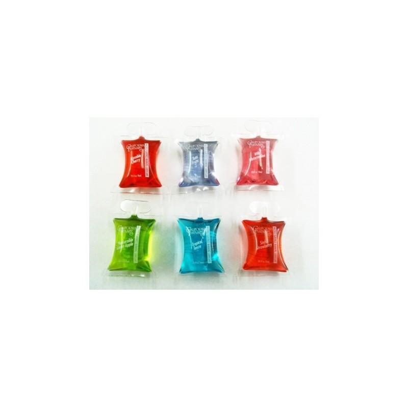 Lubricante  Caliente de Sabores Razzels  10 ml *