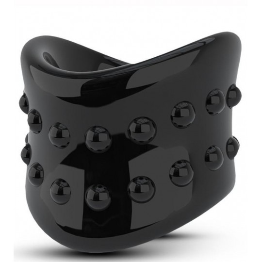 Anillo Retardante - Beef Ball Stretcher - 1.5 Negro.