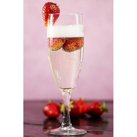 Bra Comestible Sabor Fresa Champagne.