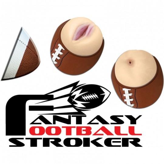 Masturbador Masculino Football de Fantasia Strocker.