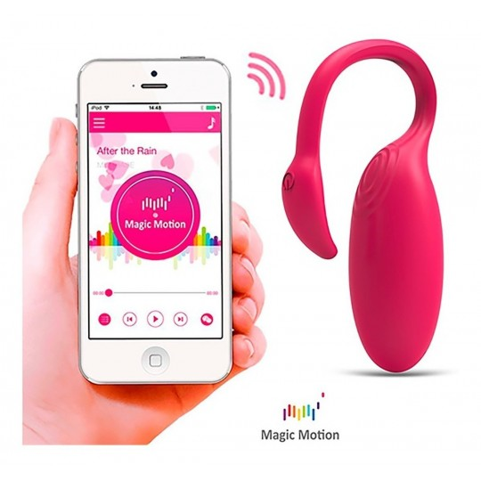 Huevo Vibrador Flamenco Con App Rosado