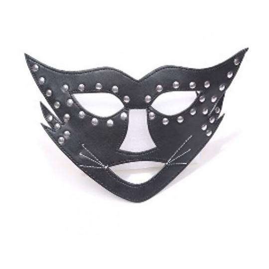Mascara Gata Salvaje Negra.