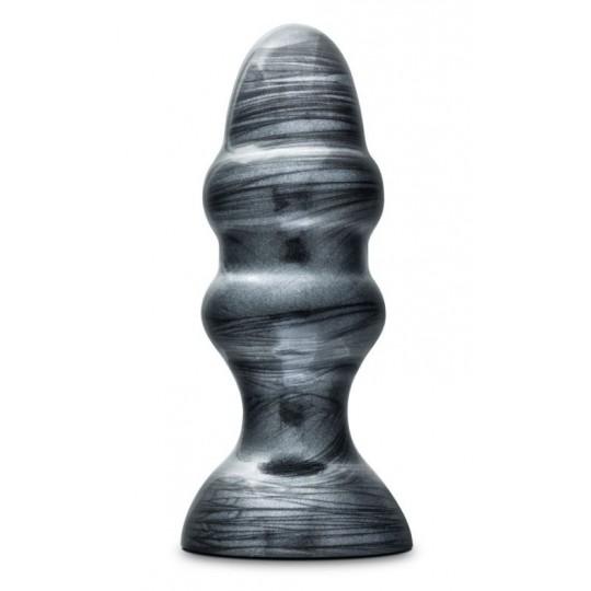 Plug anal Jet Stealth - Carbón metálico negro