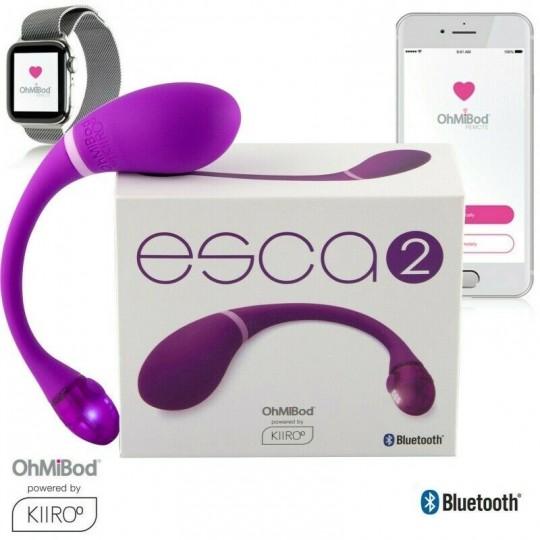 "Vibrador control Bluetooth ""Esca 2 """