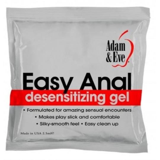 Lubricante Anal en Cojín EASY 2.5 ML.