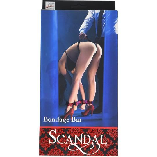 Barra Estabilizadora Con Puñus Ajustables Scandal Bondage Bar