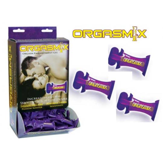 Crema Multiorgasmica En Cojin Orgasmix * 3 Unidades.