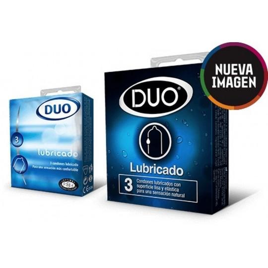 Condón Duo Lubricado.